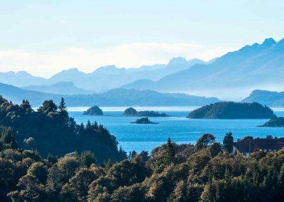 Nahuel Huapi Lake, Patagonia-reduced